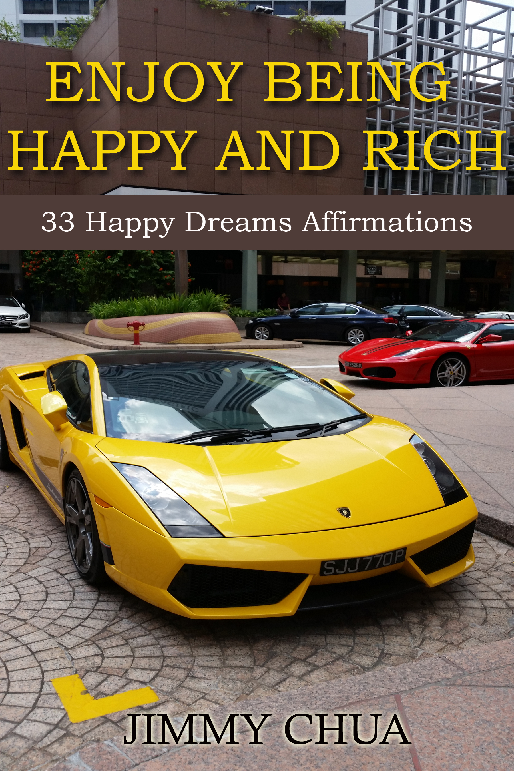 Enjoy Being Happy and Rich Cover